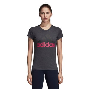 Adidas Essentials Linear Womens Slim T-Shirt
