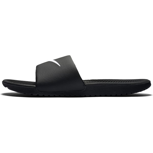 f2538e24487f73 Nike Kawa Slide - Mens Slides - Black White