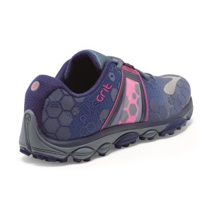 5eacf8a5cda ... Brooks PureGrit 4 - Womens Trail Running Shoes - Blue Blue Print Pink  ...