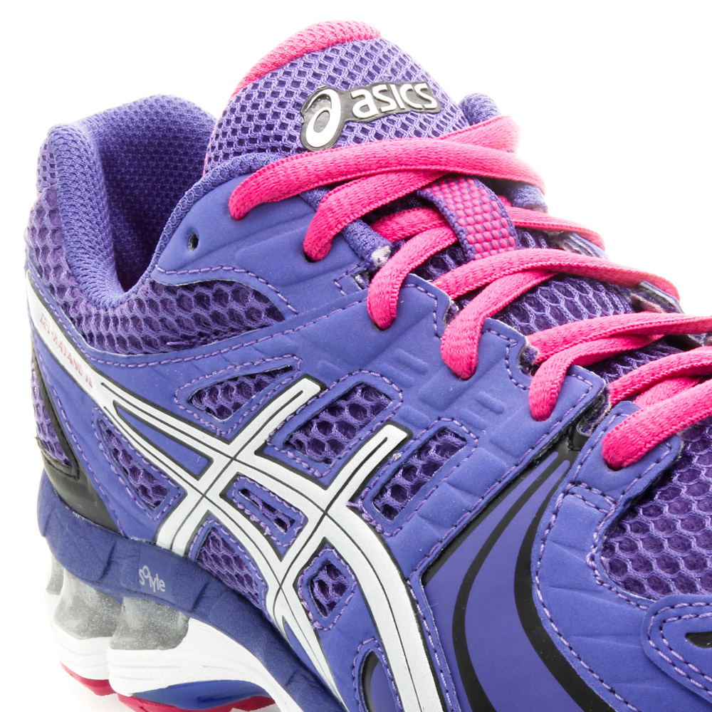 asics gel kayano 18 purple