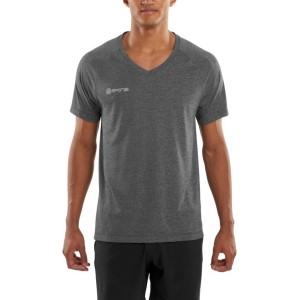 Skins Plus Vector V Neck Mens Short Sleeve Tee