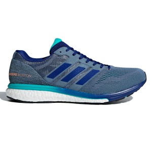 online store 82aa4 9c805 Adidas Adizero Boston 7 - Mens Running Shoes - Raw SteelMystery InkAqua  ...