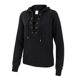 Running Bare Tie Me Up Pull Over Womens Hoodie