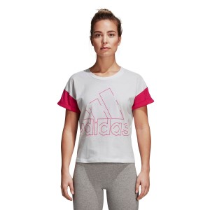 Adidas Sports ID Badge Of Sport Womens Casual T-Shirt