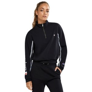 Champion Rochester Athletic Quarter Zip Womens Sweatshirt