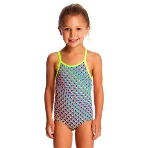 Funkita Printed Toddler Girls One Piece Swimsuit