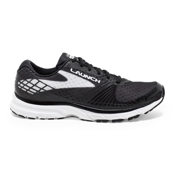Brooks Launch 3 - Mens Running Shoes - Black/White