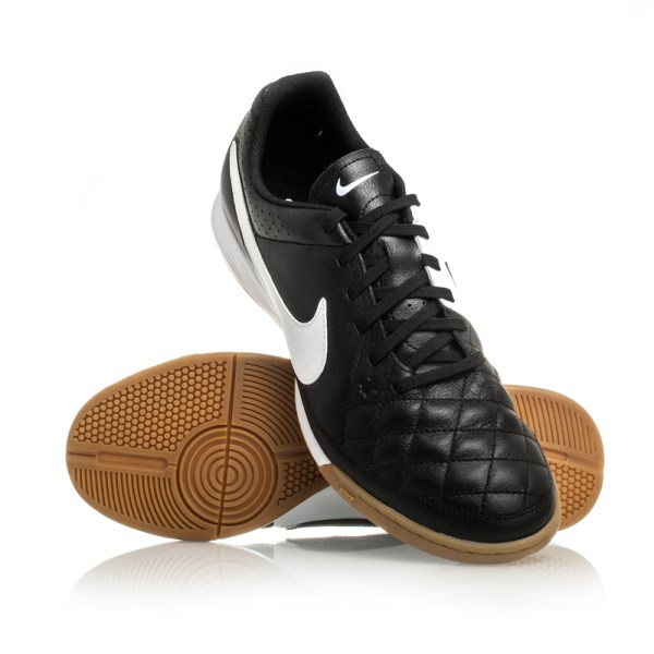 f771cce8e8b Nike Tiempo Genio Leather IC - Mens Indoor Football Shoes- Black ...