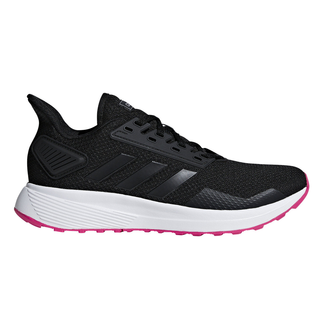 934cf98cb2f Adidas Duramo 9 - Womens Running Shoes - Core Black/Shock Pink ...
