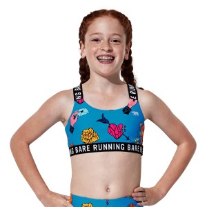 Running Bare Coachella Kids Girls Crop Top
