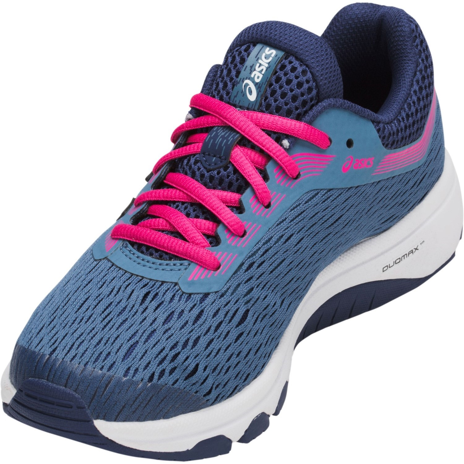 c47ba77056ab Asics GT-1000 7 GS - Kids Girls Running Shoes - Azure Fuchsia Purple ...