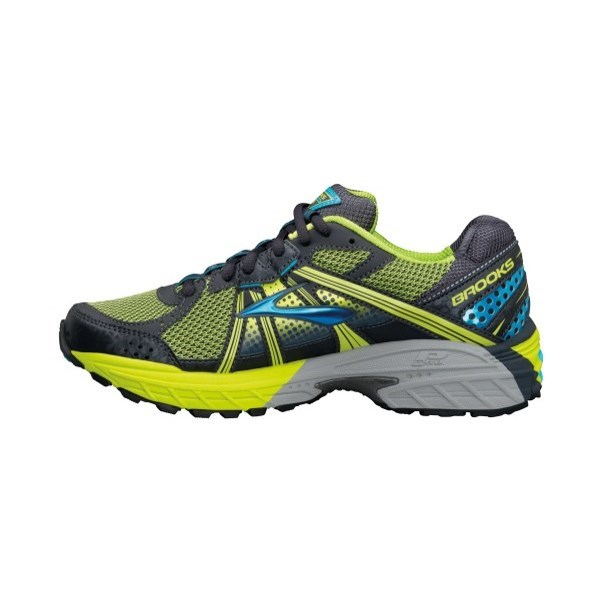 af9c46a33587 Brooks Adrenaline ASR 10 - Womens Trail Running Shoes - Citron Anthracite