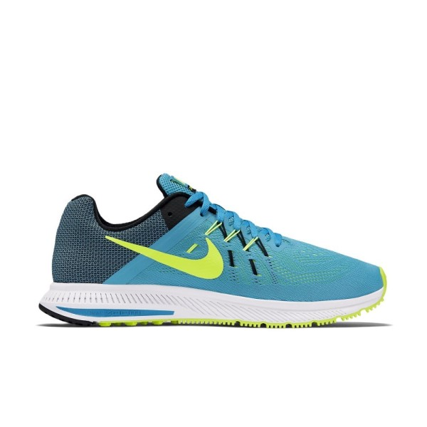 198c89bbe95d Nike Zoom Winflo 2 - Mens Running Shoes - Blue Lagoon Volt Black ...