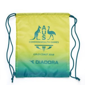 Diadora Commonwealth Games Supporter Drawstring Bag