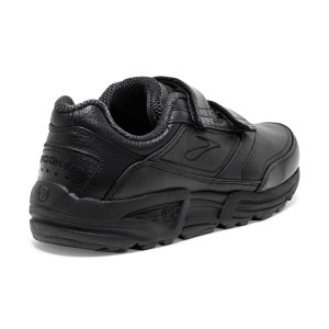 Brooks Addiction Walker V-Strap - Womens Walking Shoes - Black