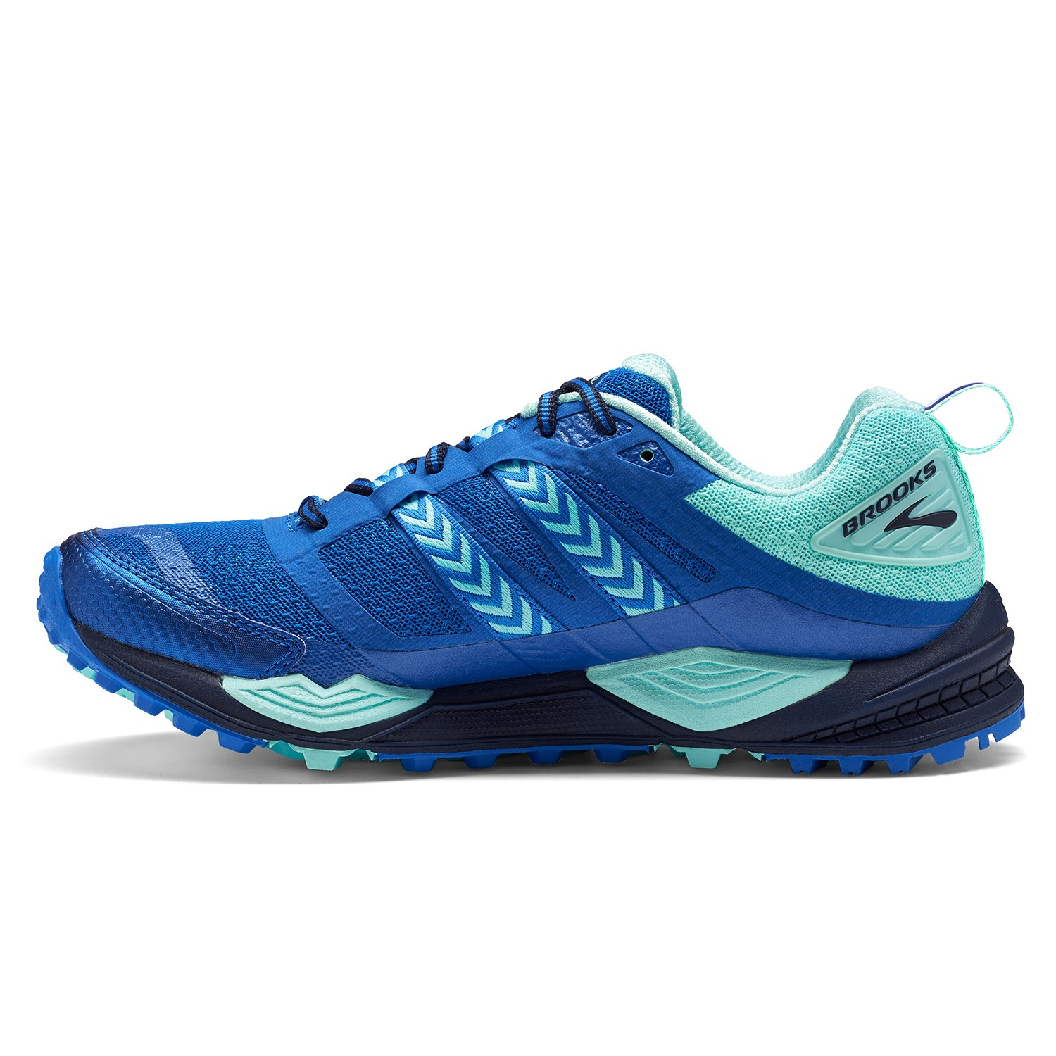 f6131cffde40f Brooks Cascadia 12 - Womens Trail Running Shoes - Navy Blue Mint ...