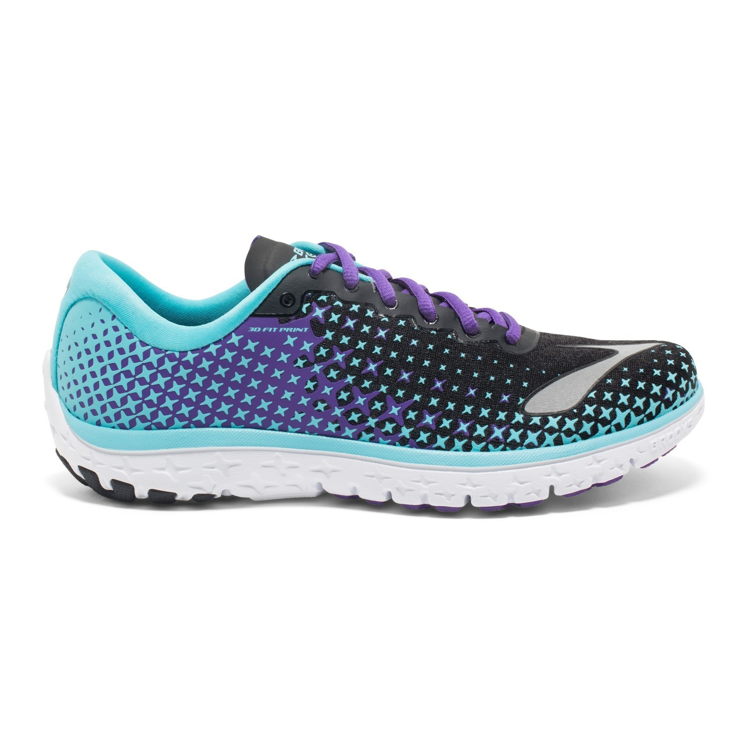 cc8e3b5a17b Brooks PureFlow 5 - Womens Running Shoes - Blue Fish Electric Purple ...