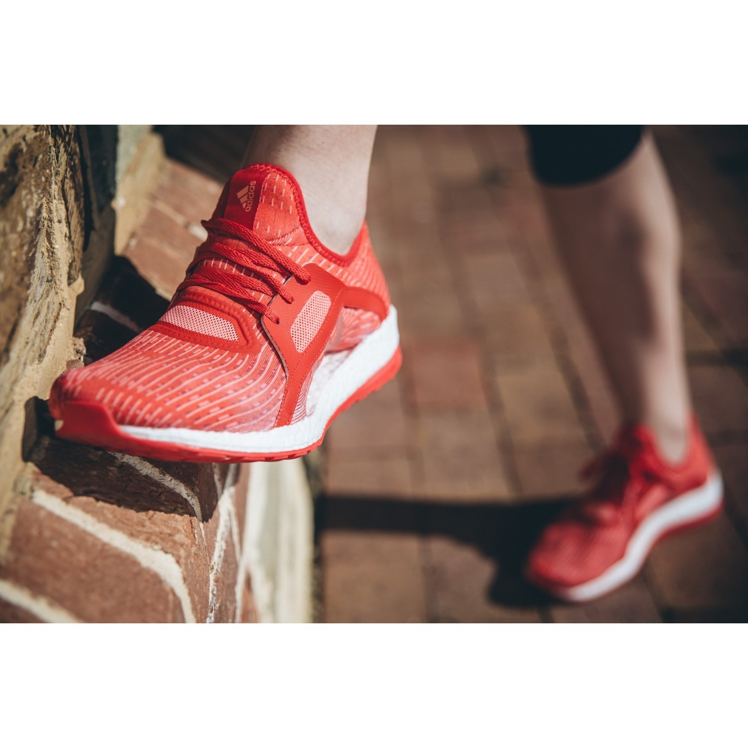42124a893a5f7 Adidas Pure Boost X - Womens Running Shoes - Ray Red