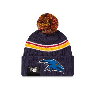 New Era Adelaide Crows Cuff Knit AFL Football Beanie