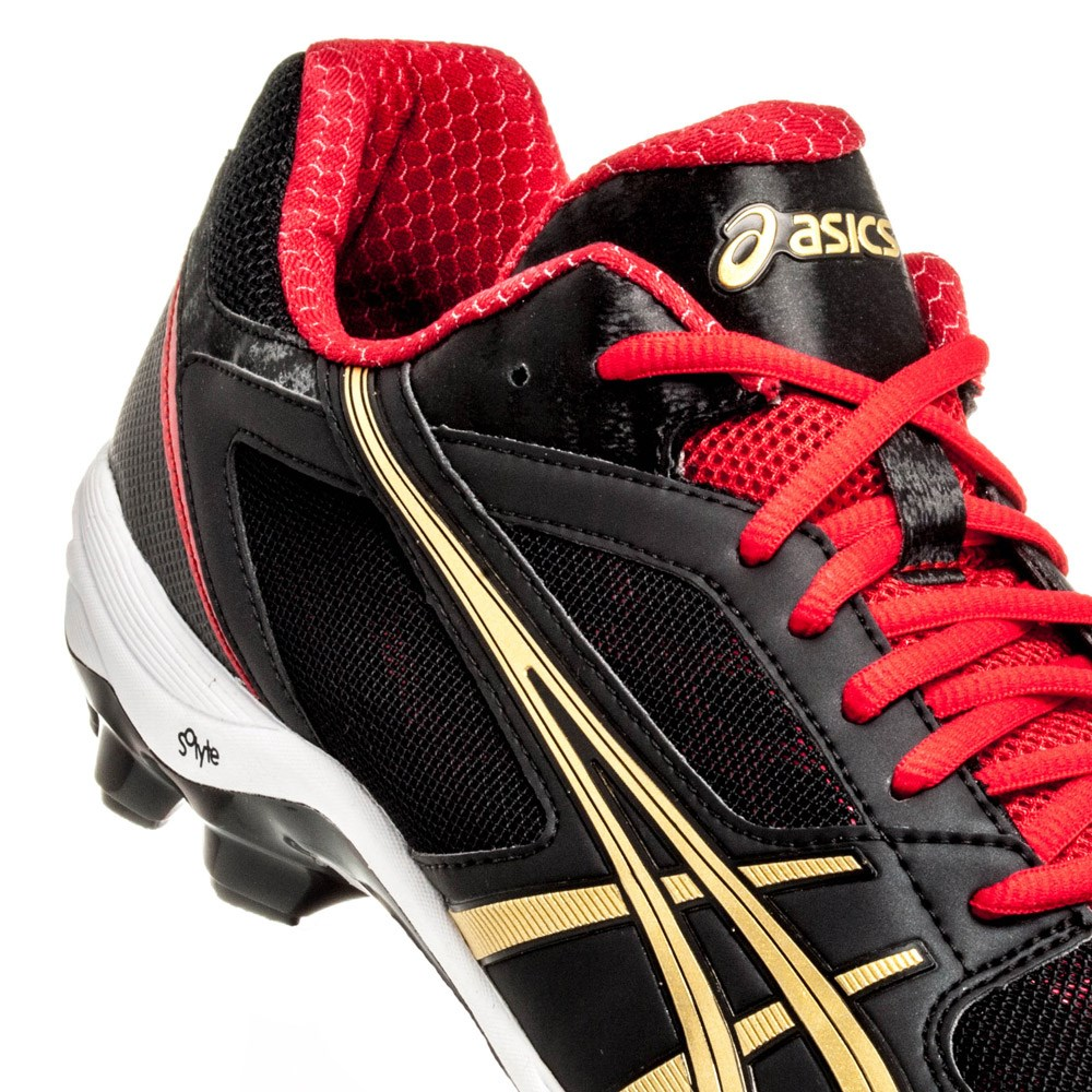 Chaussures Hommes Asics 5 Gel/ Lethal Touch Rouge Pro 5 Turf Noir/ Or/ Rouge d54b2fe - propertiindonesia.site