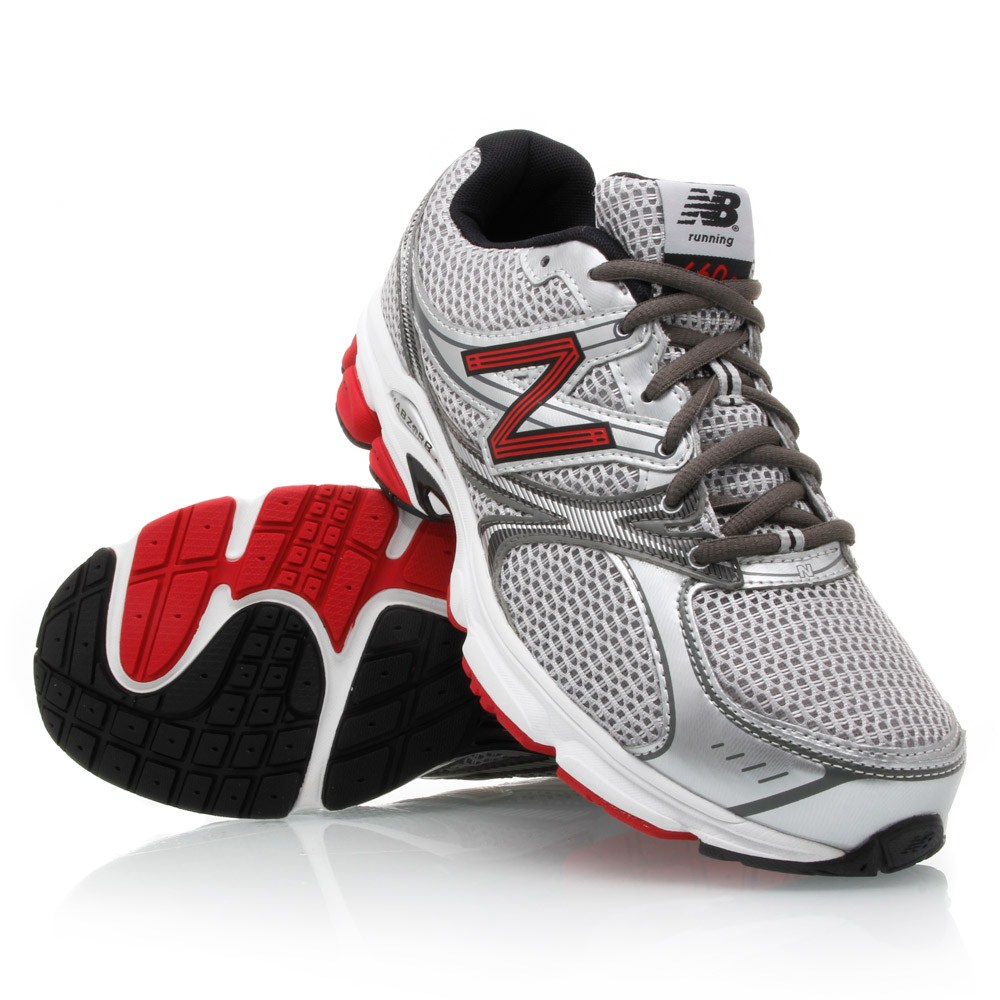 4df548d7e1668 New Balance 660 - Mens Running Shoes - Silver Grey Red