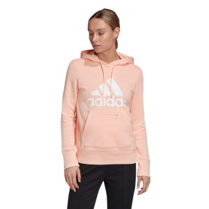 Adidas Badge Of Sport Fleece Pullover Womens Hoodie
