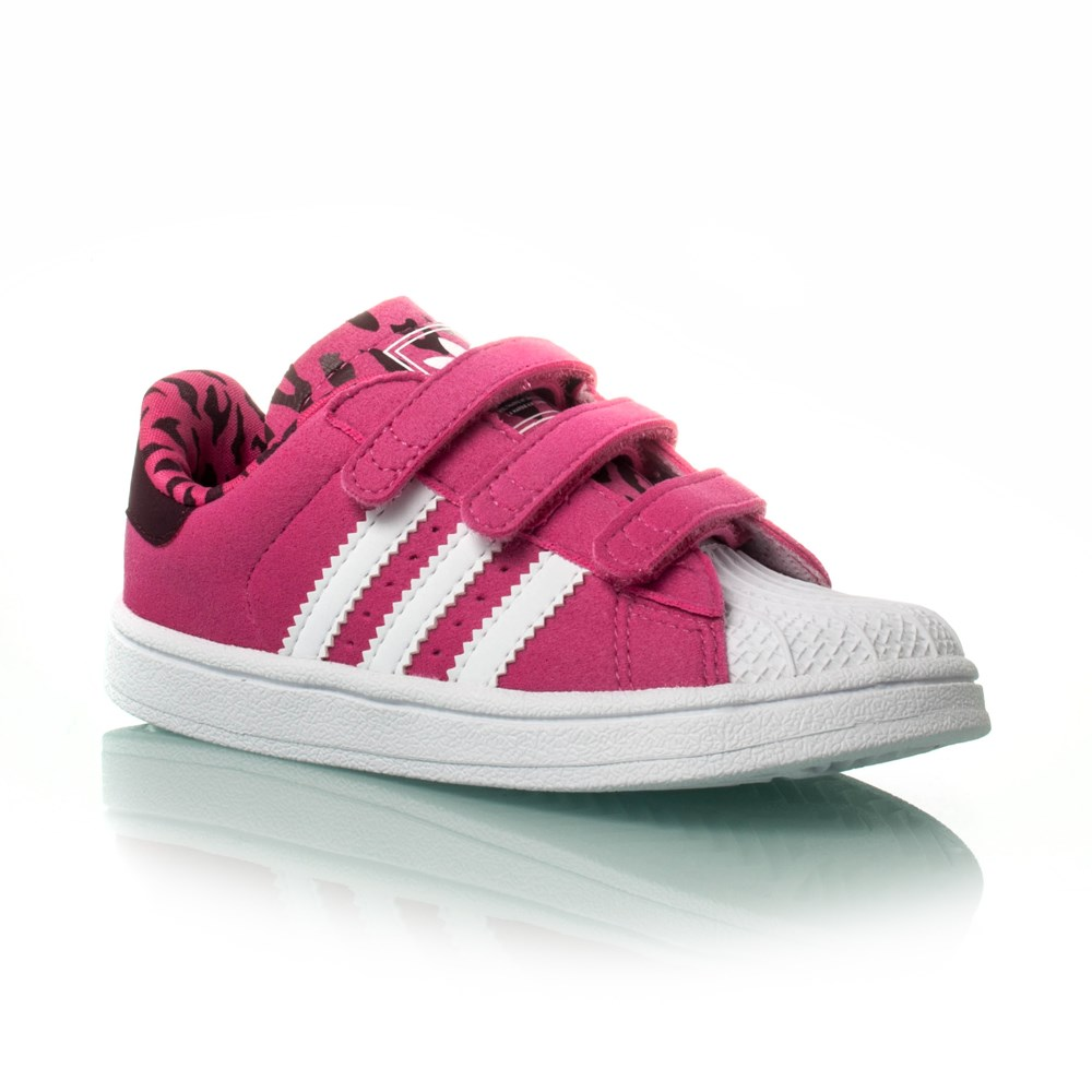 adidas shoes for girls superstar pink. adidas originals superstar 2 cf i - toddler girls casual shoes pink/white/ for pink m