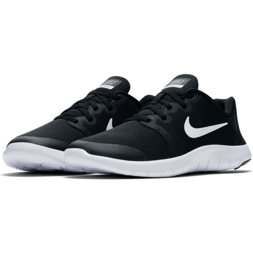 timeless design 1a028 5dba4 Nike Flex Contact 2 GS - Kids Running Shoes - Black White Cool Grey
