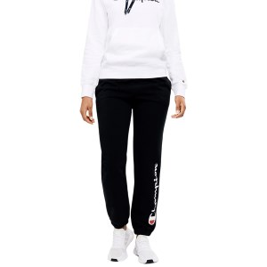 Champion Script High Waist Womens Track Pants