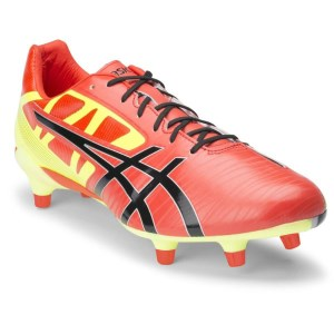 f5c1e6dac ... Asics Gel Lethal Speed - Mens Rugby Boots - Deep Orange Black Flash  Yellow