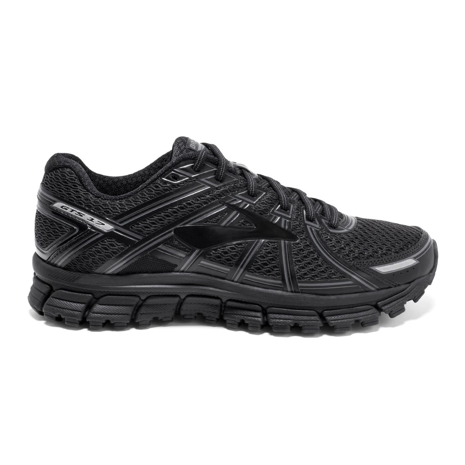 9e4ce0af69 Brooks Adrenaline GTS 17 - Mens Running Shoes - Black/Anthracite ...
