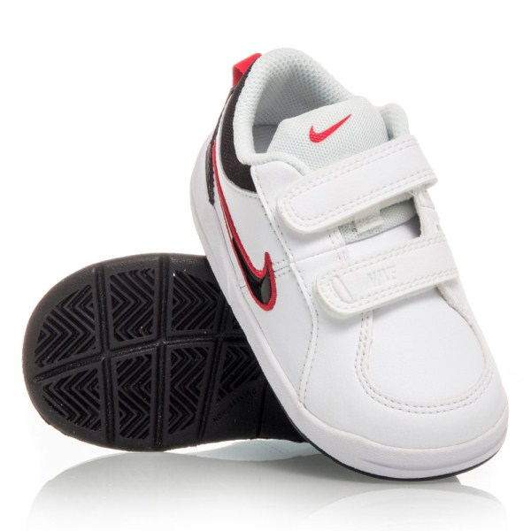 9e13ba5cca9 Nike Pico 4 TDV - Toddler Boys Shoes - White Black Red