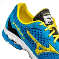 1e7f82e7439e ... Mizuno Wave Ronin 5 - Mens Racing Shoes - Blue Yellow