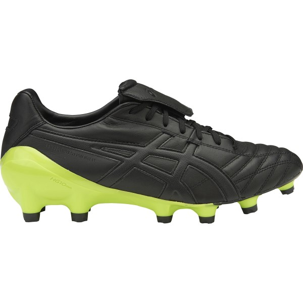 Asics Lethal Testimonial 4 IT - Mens Football Boots - Black/Onyx/Neon Lime