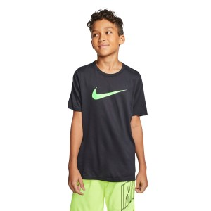 Nike Dri-Fit Swoosh Kids Boys Training T-Shirt