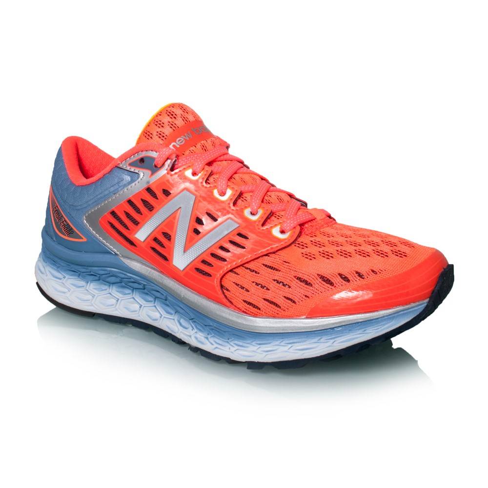 new balance 1080. new balance fresh foam 1080 - womens running shoes shell pink/silver/blue