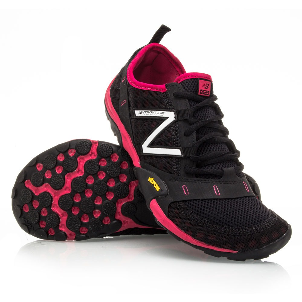 new balance minimus womens. new balance wt10 minimus - womens trail shoes black/pink