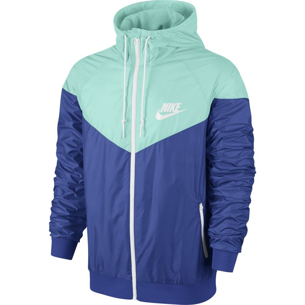 99a2cc5672ac Nike Windrunner - Mens Running Jacket - Game Royal Blue Artisan TealWhite