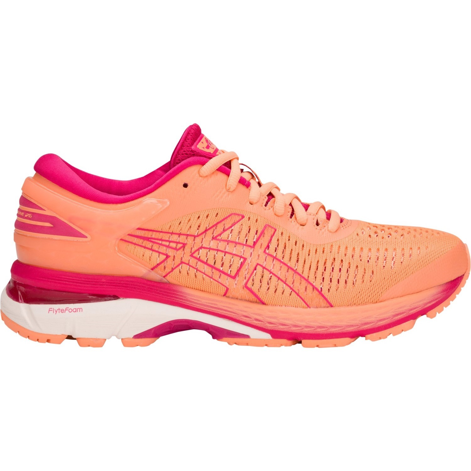 7ea94caeb23 Asics Gel Kayano 25 - Womens Running Shoes - Mojave/White/Pink ...