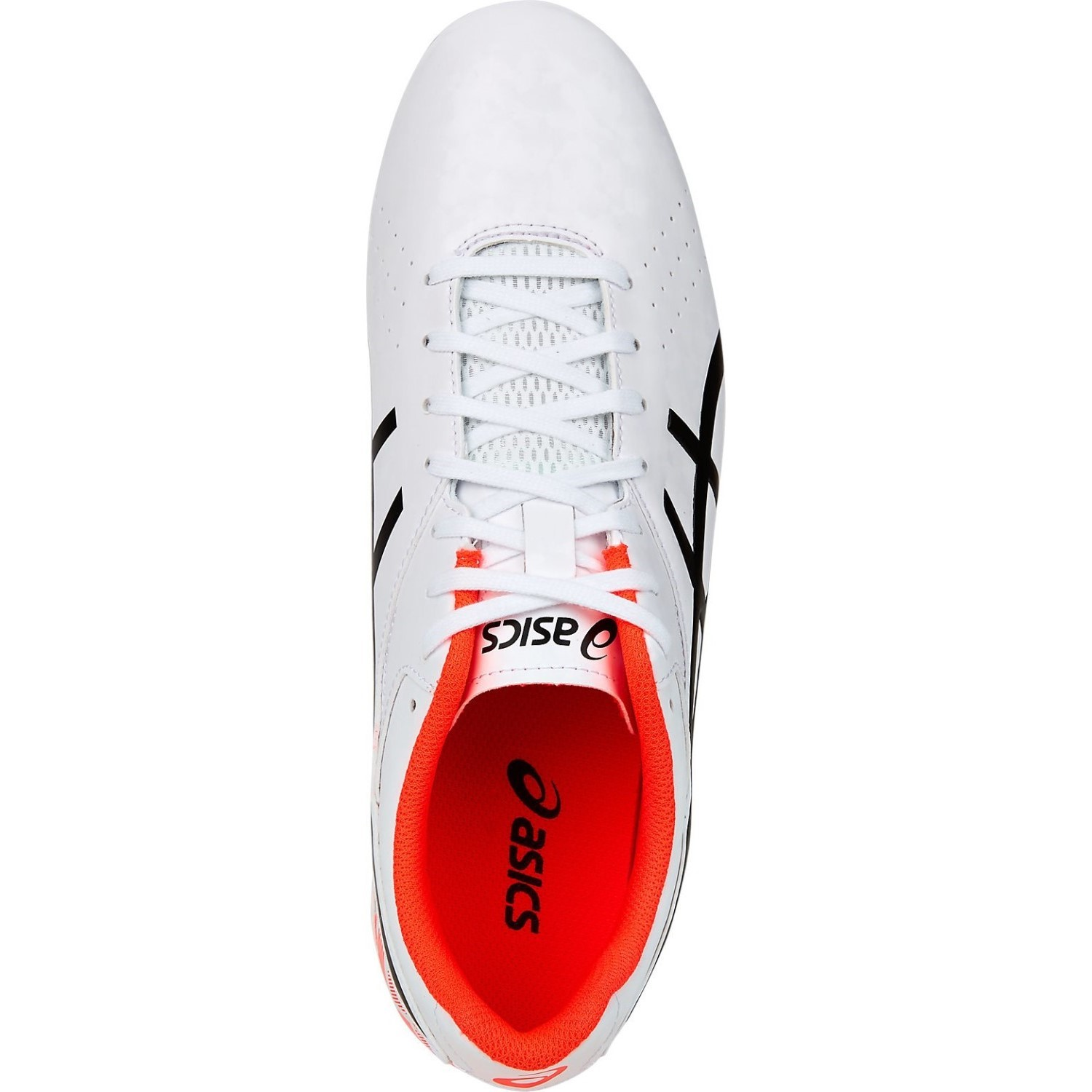 dac857b85d2 Asics Lethal Speed RS - Mens Football Boots - White Black Orange ...