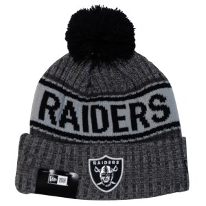 New Era Oakland Raiders Knit Medium Football Beanie