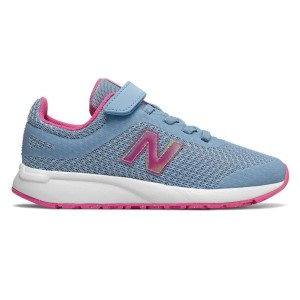 New Balance 455 v2 Velcro - Kids Girls Running Shoes