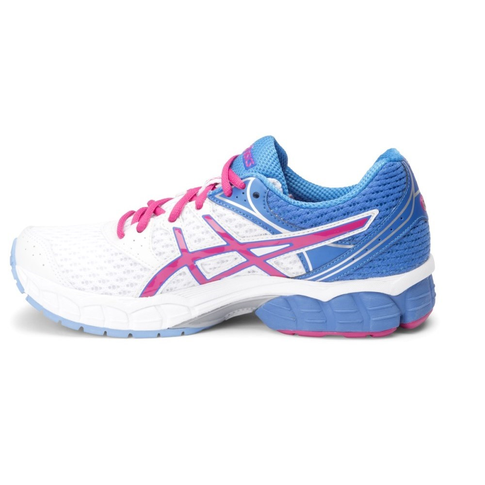 Asics Gel Pulse 6 - Womens Running Shoes - White Hot Pink Powder Blue 1ef71cf509