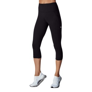 Running Bare Power Moves Ab Waisted Womens 7/8 Training Tights