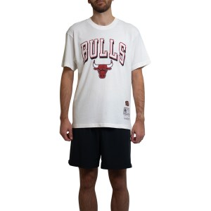 Mitchell & Ness Chicago Bulls Keyline Logo Vintage Mens Basketball T-Shirt
