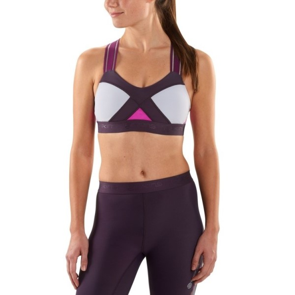 Skins DNAmic Speed Womens Crop Top - Magenta