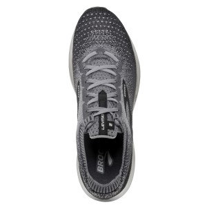Brooks Levitate 2 - Mens Running Shoes - Black/Grey/Ebony