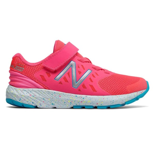 New Balance FuelCore Urge Velcro v2 - Kids Girls Running Shoes - Pink Zing/Blue 23691