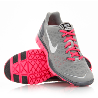 new arrival 5bb7d 66409 Nike Free TR Fit 2 - Womens Running Shoes - Silver Pink ...