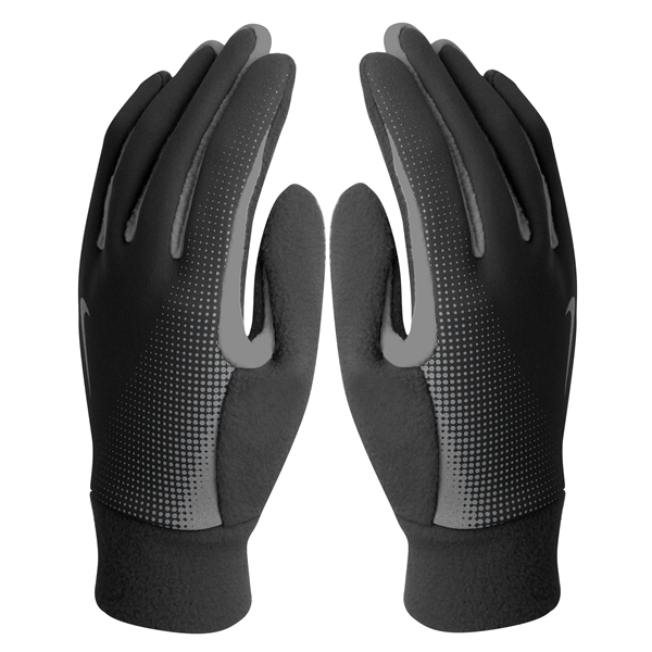 Nike Thermal Tech Mens Running Gloves - Black/Anthracite